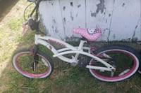 white and pink BMX bike Weslaco, 78596