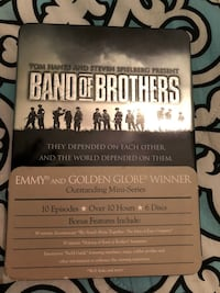 "DVD Box Set ""Band Of Brothers"" Perfect Condition.  Portland, 97218"