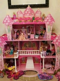 pink and white doll house Oakland, 94601