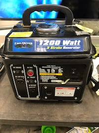 Generator 1200 Watts FOR PARTS Chicago, 60612