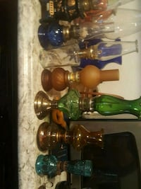 three green and clear glass water bongs Lafayette, 47904