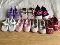 Baby girl shoes  Coquitlam, V3B 7H8