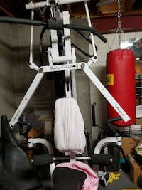 white Body Solid exercise down machine Westminster, 80031