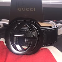Gucci belt (black) Surrey, V3V 5Y5