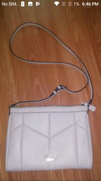 white leather guess bag Regina, S4T 3V7