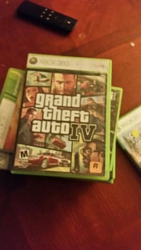 Grand Theft Auto IV Xbox 360 game case Dingmans Ferry, 18328