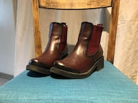 Bordeaux woman boots, used 3 times. Lund, 226 42