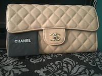 quilted white Chanel leather wristlet Calgary, T3C 1V5