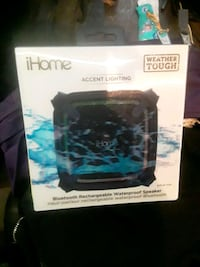 IHOME Accent lighting and speaker