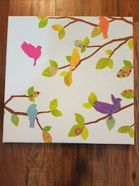 """Magnetic Board (16"""" × 16""""), With 5 Bird Magnets Innisfil, L0L 1K0"""