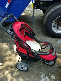 red and black jogging stroller Brooklyn, 11220