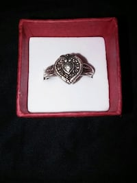 Sterling heart ring. Fort Myers, 33966