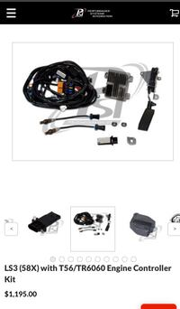 LS3 (58X) with T56/TR6060 Engine Controller Kit (PRICE NEGOTIABLE)