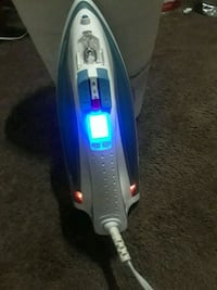 gray and blue Bissell upright vacuum cleaner Arlington, 22206