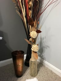 brown and white flower arrangement Lorton, 22079