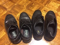 Black men's shoes size 12, each worn once or twice by my teenage dom Markham, L3P 2E1
