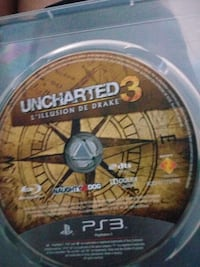 Sony PS3 Uncharted 3 Illusion de drake disque Six-Fours-les-Plages, 83140