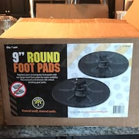Foot pads for an RV Franklin
