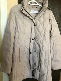 Cleo beige winter jacket