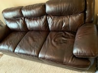 3 seater Leather couch Herndon, 20171
