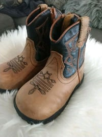 Baby boy roper boots size 5 Carlsbad, 88220