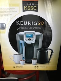 Keurig 2.0 coffee maker box Mount Laurel, 08054