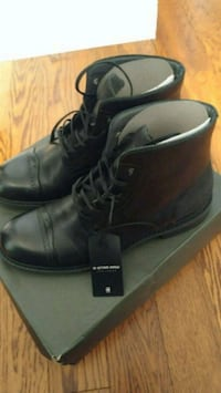 G star raw authentic leather boots Toronto, M1S 5B2
