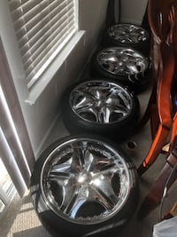 20 inch rims with excellent tires