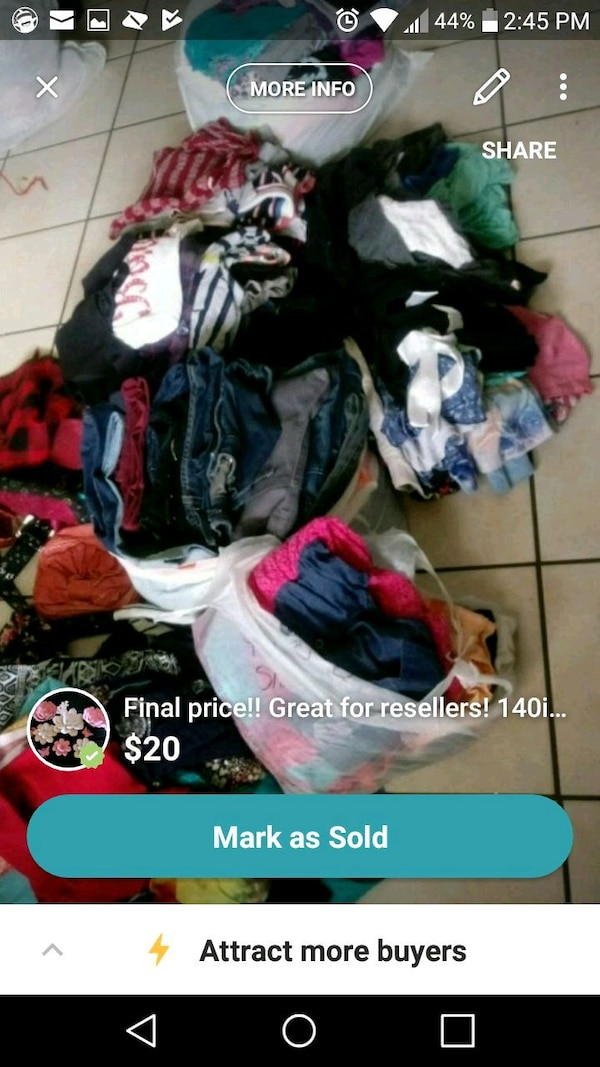 25de8bef0426c Used Resellers! name brand clothing for sale in Brownsville - letgo