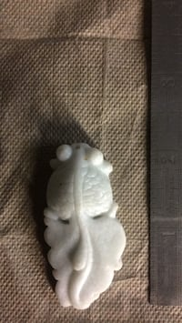 Jade hand carved fish pendant Culver City, 90230
