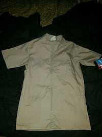 Brand new Scrubs zippered top
