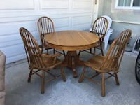 Solid Oak dining set Pico Rivera, 90660