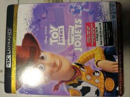 toy story 1 and 3 4k sealed
