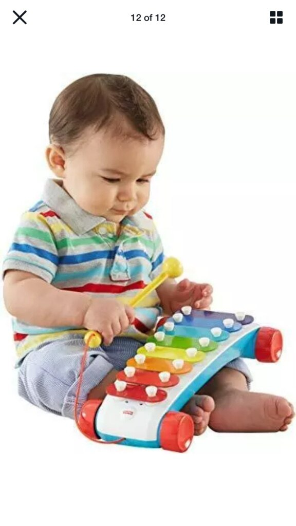 Photo Classic baby xylophone toy fisher price new music toddler girls boys