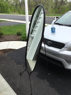 Large stand up mirror in lancaster township letgo for Large stand up mirror