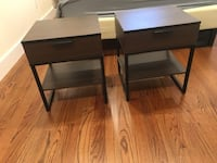 IKEA Bed Frame & Matching Night stands Jersey City