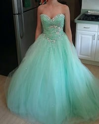 Full Length Formal Princess Gown