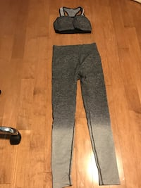 Brand new high waisted seamless leggings and sports bra  Toronto, M2N 4S1
