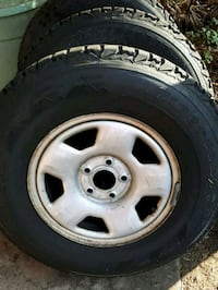 4 Winter Tires off 2007 Escape Coquitlam, V3K 4X8
