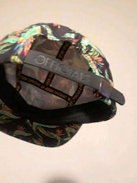 black and green camouflage cap 2274 mi