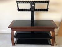 black glass top TV stand Chandler, 85248