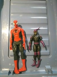 two red and black action figures El Paso, 79925