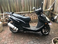 black and gray motor scooter Mississauga, L5B 2C9