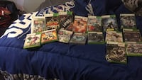 assorted Xbox 360 game cases Frankton, 46044
