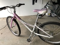 White and pink 7 speed Trek mountain bike West Newbury, 01985