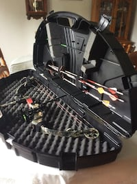 Parker coumpound Hunting Bow with Arrows and Release