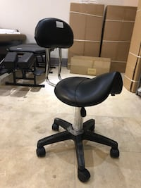 Brand New massage spa facial saddle stool with backrest