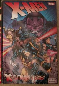 Uncanny Xmen graphic novel - X cutioner's song