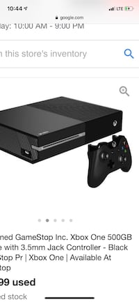 Xbox One 500 GB. Comes with 6 games installed Madden 19, FIFA 19, NBA 2K19, COD Black Ops 4, NHL 19, and UFC 3. Also comes with 2 wired controllers and Turtle Beach headset. Ask for pics, questions. Need gone ASAP Portsmouth, 03801