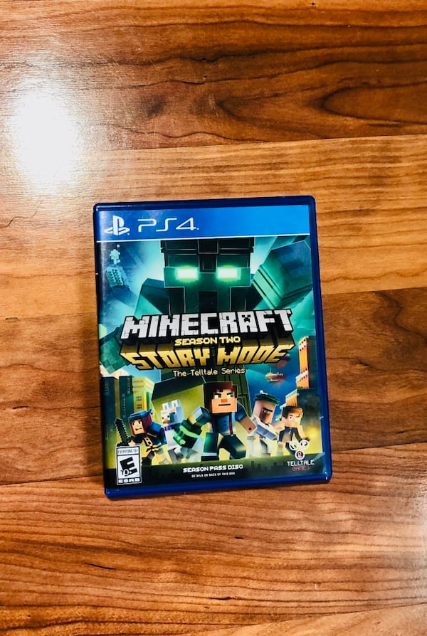 Used Minecraft Story Mode Season 2 Ps4 For Sale In Olathe Letgo